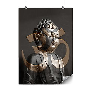 Matte or Glossy Poster with Zen Symbol Buddhism | Wellcoda | *y3526
