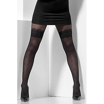 Sheer Tights Black sexy ladies tights accessory