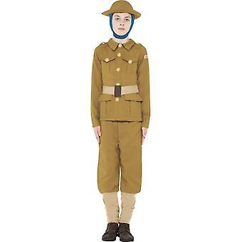 زي فتى الحرب العالمية الأولى تاريخها الرهيبة