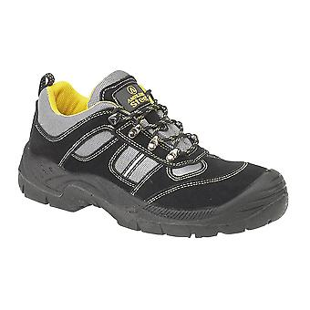 Amblers Unisex Steel FS111 Safety Trainer S1-P / Mens Womens Shoes