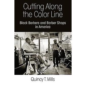Skære langs linjen farve - sort barberer og barbersaloner i Ameri