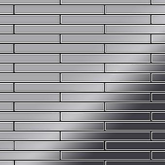 Metal mosaiikki ruostumattomia TERÄKSIÄ Avenue-S-S-M