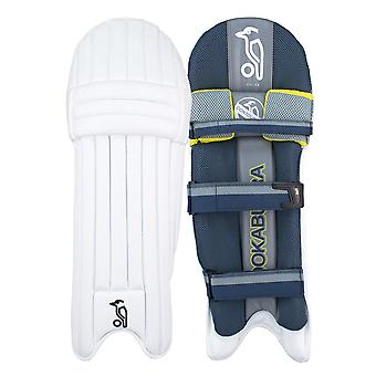 Kookaburra 2019 Nickel 2.0 Cricket Batting Pads Leg Guards White/Grey