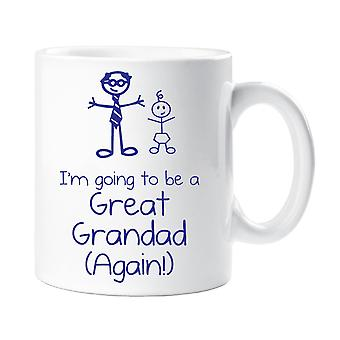 I'm Going To Be A Great Grandad Again Mug