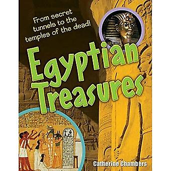 Egyptische schatten: Leeftijd 8-9, gemiddelde lezers (witte wolven Non fictie)