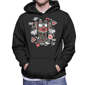 Watermelon Man Men's Hooded Sweatshirt