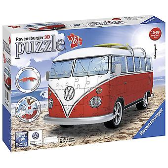 Ravensburger VW T1 Camper Van, 162pc 3D pussel