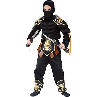 忍者战斗儿童服装