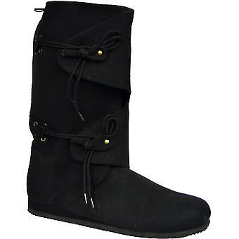 Boot Renaissc Blk Tall Lg