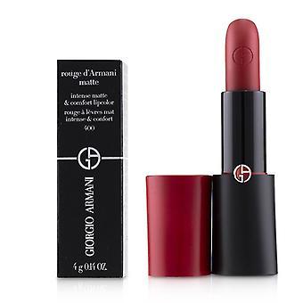 Giorgio Armani Rouge D'armani Matte Intense Matte & Color de labios confort - 400 cuatrocientos - 4g/0.14oz