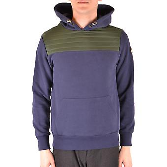 Colmar Originals Ezbc124041 Men's Purple Cotton Sweatshirt