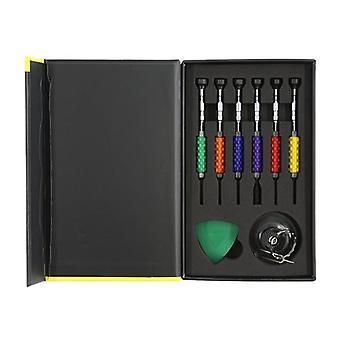 Kit di riparazione smartphone, 12 PC, precisione CRV, giallo