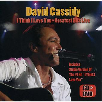David Cassidy - I Think I Love u-Greatest Hits Live [CD] USA importeren