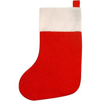 "16"" (41cm) Red Felt Stocking"
