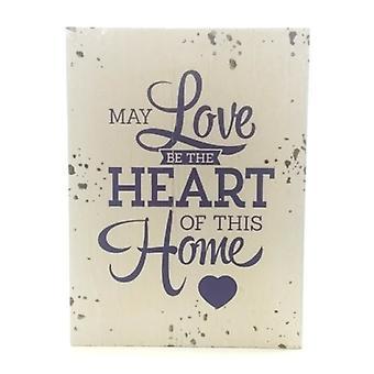 """Houten tekstbord """"Love"""""""