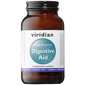 Viridian High Potency Digestive Aid (Vegan) Veg Caps 150 (473)