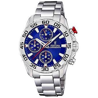 Festina | Unisex/Junior's Stainless Steel Bracelet | Blue Dial | F20457/2 Watch
