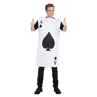 Bristol Novelty Unisex Adults Ace Of Spades Costume