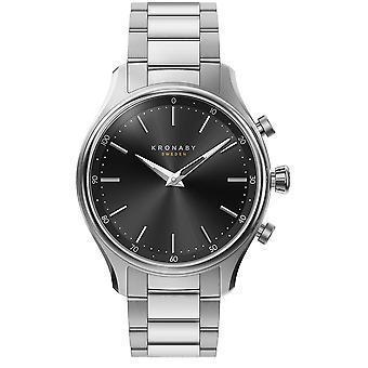 Kronaby sekel Unisex Analog Automatic Watch with S2750/1 Stainless Steel Bracelet