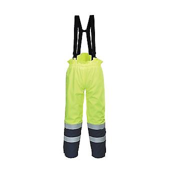 Portwest bizflame multi arc hi vis trouser fr78