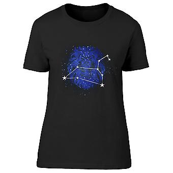 Horoscope Constellation Leo Tee Women's -Image by Shutterstock