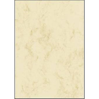 Sigel DP191 Motif printer paper Marble A4 200 gm² Beige 25 sheet