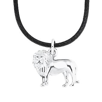 s.Oliver Jewel Kids and Teens Necklace Silver Nylon Lion 2026060