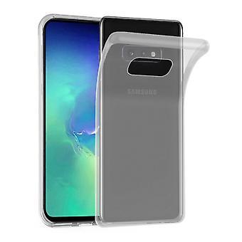 Cadorabo Hülle für Samsung Galaxy S10e Case Cover - Handyhülle aus flexiblem TPU Silikon – Silikonhülle Schutzhülle Ultra Slim Soft Back Cover Case Bumper