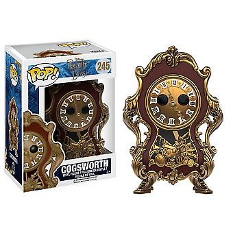 Beauty and the Beast (2017) Cogsworth Pop! Vinyl