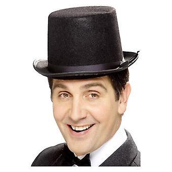 Mens Topper Hat Fancy Dress accessoire
