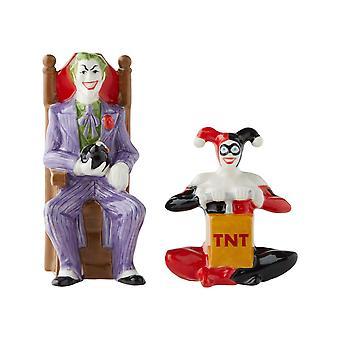 Salz & Papier Shaker - DC Comics - Joker und Harley Quinn Neu 6003882