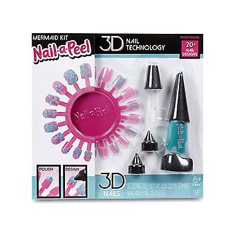 Nail-a-Peel Refill Kit - Mermaid