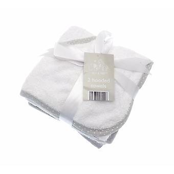 Элли & Raff Pack 2 с капюшоном полотенца