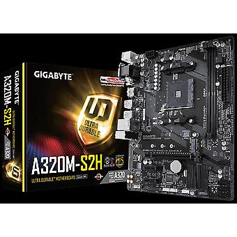 Gigabyte Ga-a320m-s2h Ryzen Am4 Matx Motherboard