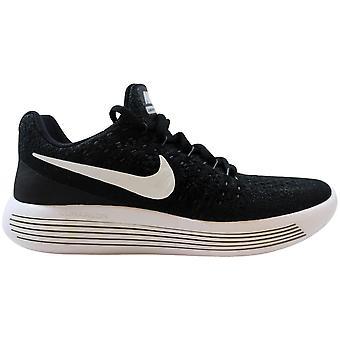 Nike Lunarepic Low Flyknit 2 Black/White-Anthracite 869990-001 Grade-School