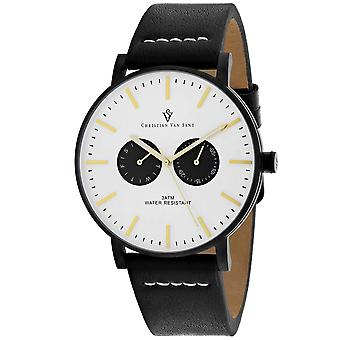 Christian Van Sant Men-apos;s Relic White Dial Watch - CV0541
