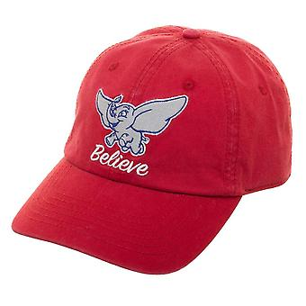 Baseball Cap - Dumbo - Believe Dad Red Hat New qd7m77dsy