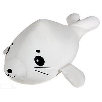 Van der Meulen spandex Seal wit pluche speelgoed