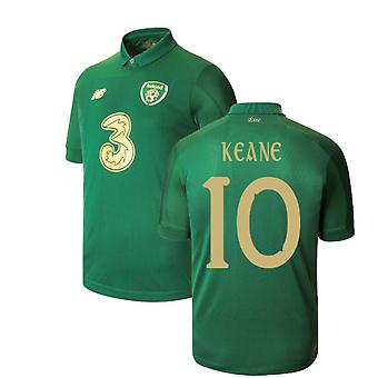 2020-2021 Ireland New Balance Home Shirt (KEANE 10)