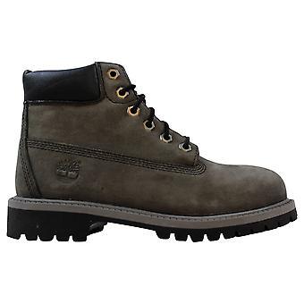 Timberland 6 Inch Premium Waterproof Boot Grey/GRS 9570R Pre-School