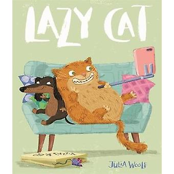 Lazy Cat by Julia Woolf