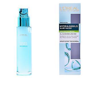 L ' Oreal maquillaje Hydra Genius Aloe agua Piel Mixta A Grasa 70 Ml para las mujeres
