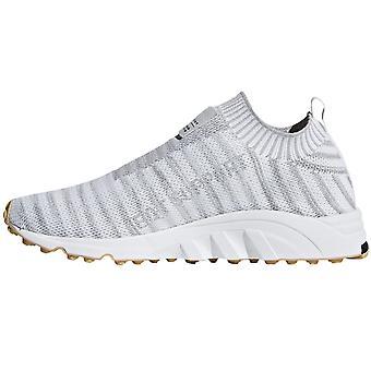 adidas Originals Womens EQT Support Sock Primeknit Casual Trainers - White/Grey