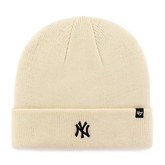 47 Brand Knit Beanie - Centerfield New York Yankees naturlige