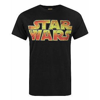 Star Wars Distressed Logo Men's T-Shirt