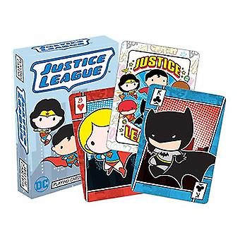 Dc comics - chibi playing cards