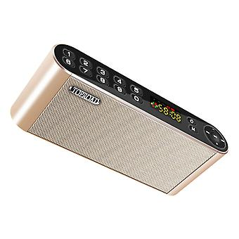 TOPROAD HiFi Langaton kaiutin Ulkoinen kaiutin Langaton Bluetooth 3.0 Kaiutin Soundbar Box Gold