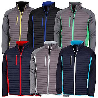 Sunderland Mens  Ontario Performance Stretch Padded Golf Jacket