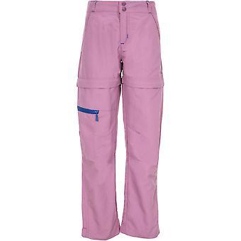 Trespass Girls Defender Adventure Turn Up Zip Off Trousers