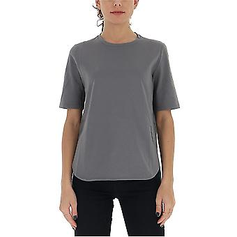 Semi-couture S0sj02y24 Women's Grey Cotton T-shirt